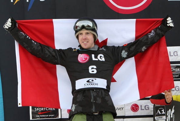 Mike Robertson wins Silver at Cypress Mountain!