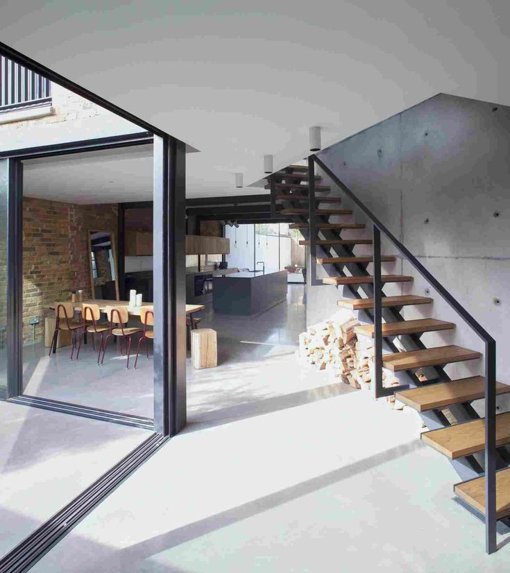 Die besten 25+ Glastreppengeländer Ideen auf Pinterest - exklusives treppen design