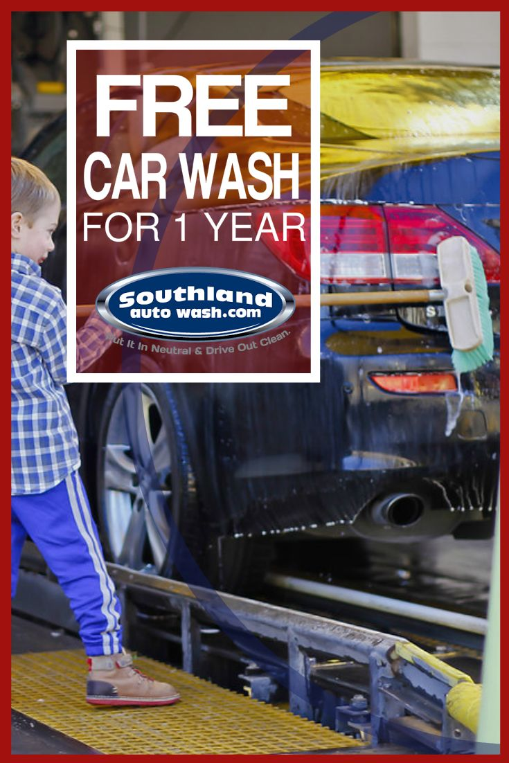 Enter for your chance to win a free 1 year express unlimited wash pass from your friends at southland auto wash also get a coupon off a platinum express