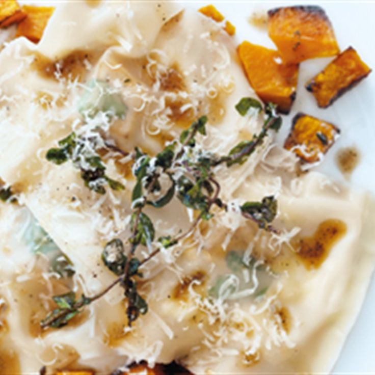 Try this Pumpkin Ricotta Ravioli recipe by Chef Donna Hay. This recipe is from the show Donna Hay – Fast, Fresh, Simple.