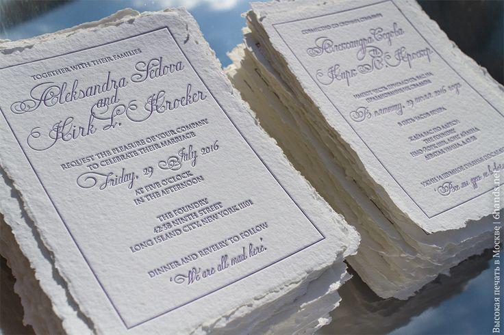 Тут внезапно лучи солнца пали на мастерскую, как раз время подсушить только что отпечатанные на хлопке ручного литья пригласительные! #высокаяпечать #пригласительные #свадьба #конверты  #свадьба #letterpress #wedding #invitation #6hands #приглашение