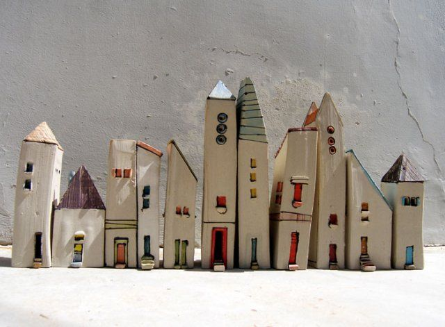 17 Best Images About Clay Houses On Pinterest Miniature