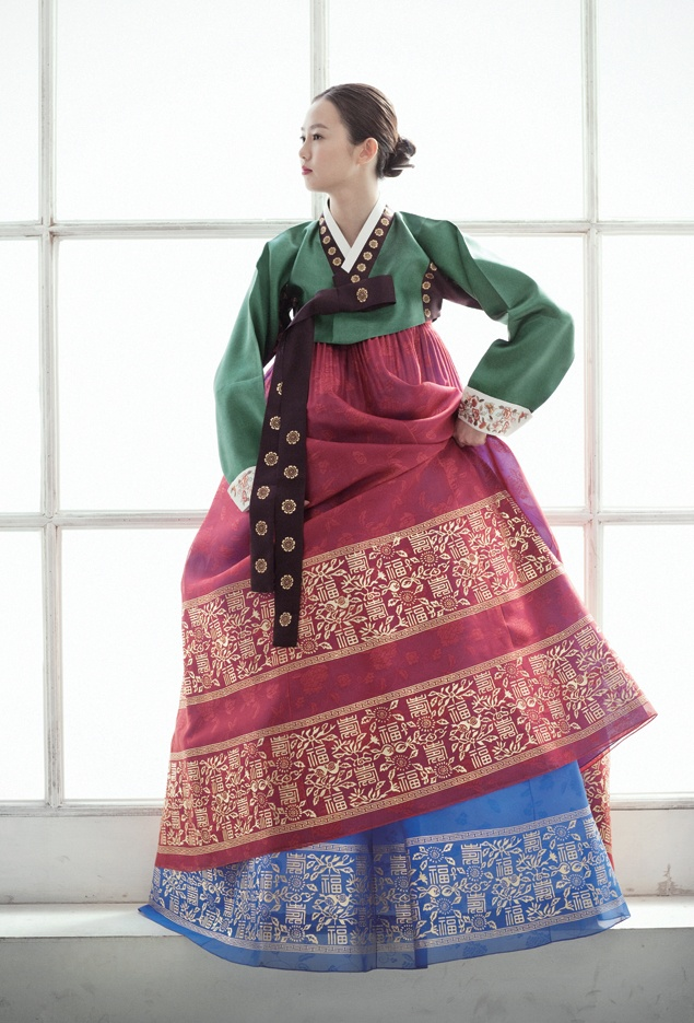 This is a traditional Hanbok - I have one just like this... but miniature as I wore it when I was a baby!