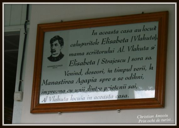 Al. Vlahuta's memorial house. situated very close to the Agapia monastery in the Neamt district.