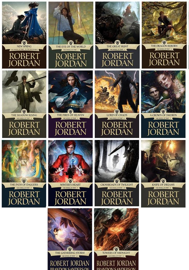 The Wheel of Time series by Robert Jordan and Brandon Sanderson