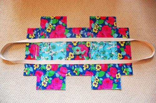 How to Make a Ruffle Duffle Bag 3 of 4