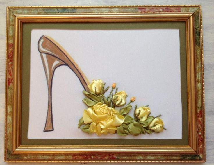 Gallery.ru / Фото #67 - Мои работы (Вышивка лентами ) - ostrikel