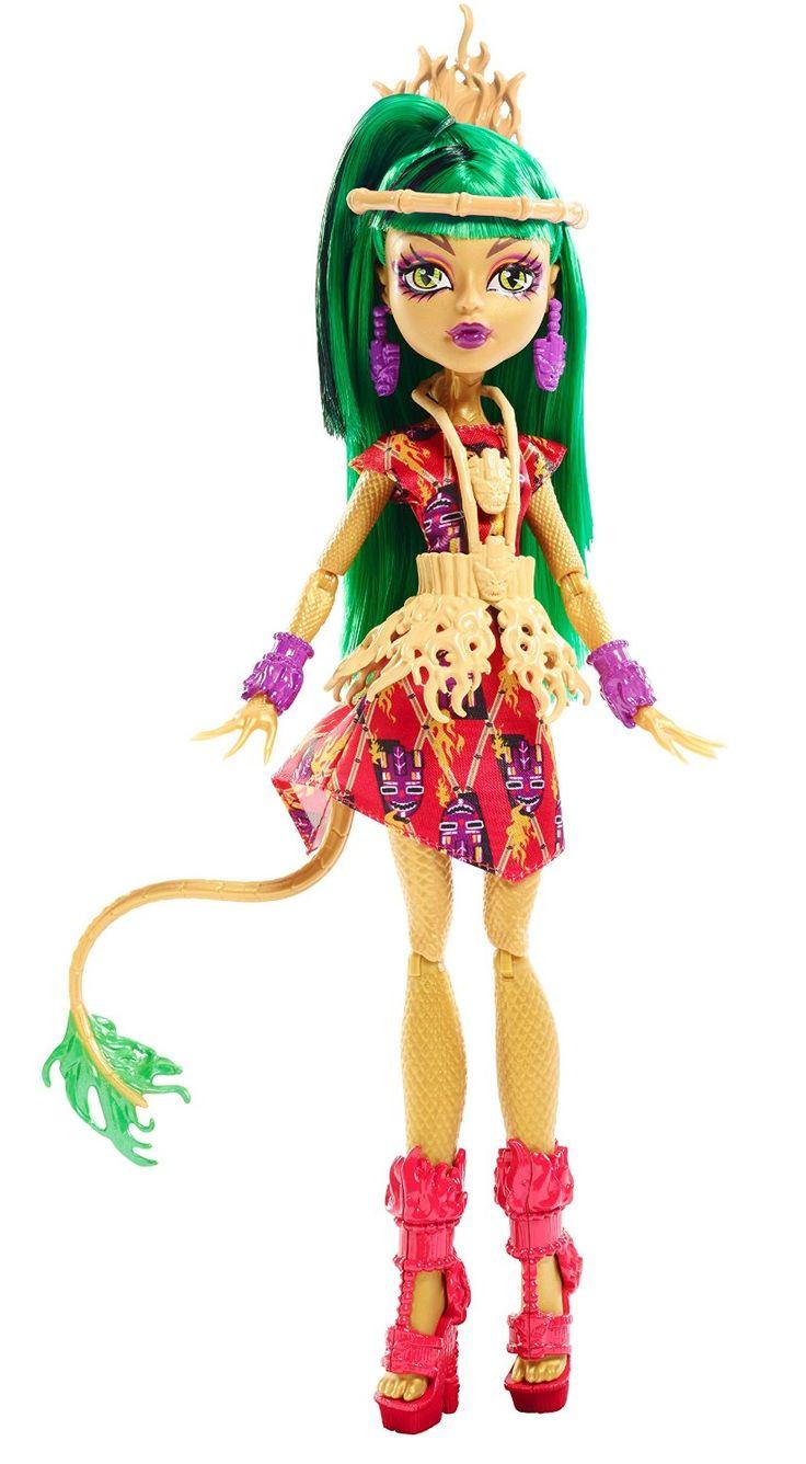 Monster High Ghouls' Getaway Jinafire Long Doll