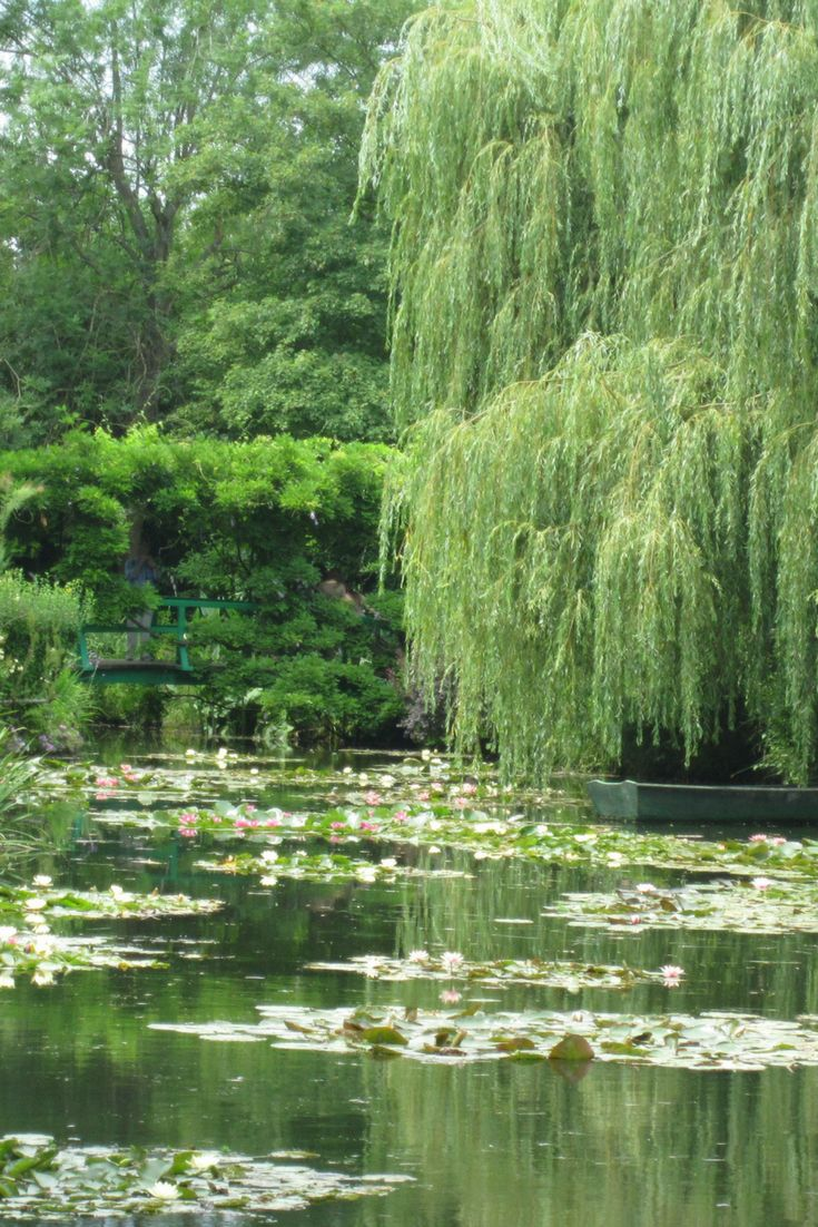 A beautiful day to Giverny, France visiting Monet's Gardens. Filled with bike rides, patisseries and picnics.
