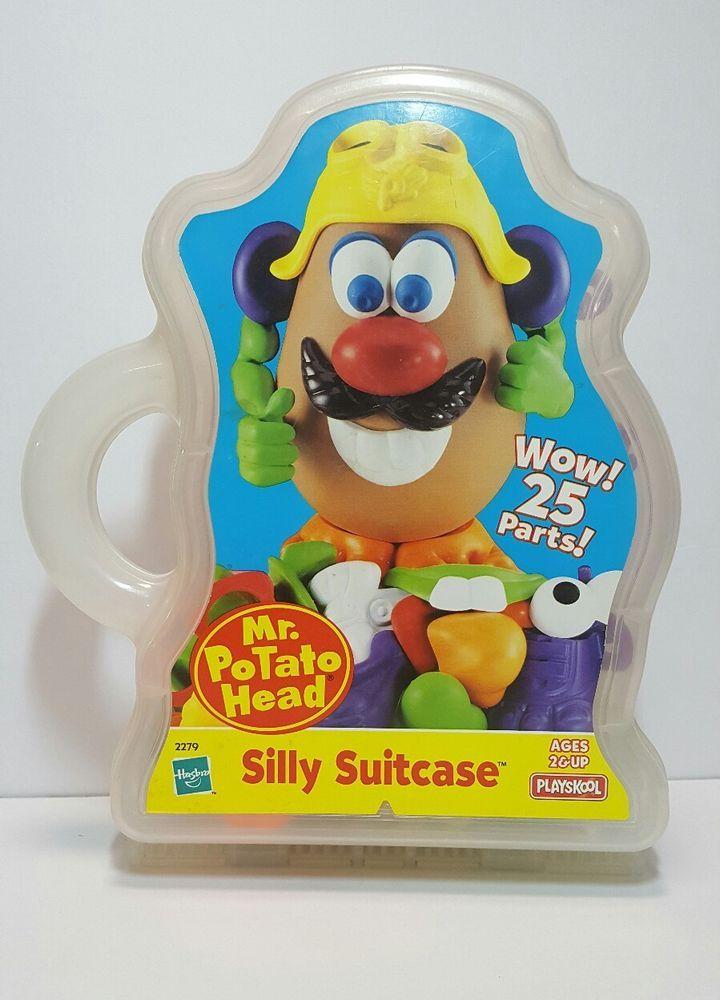 1998 Mr. Potato Head Silly Suitcase #Playskool