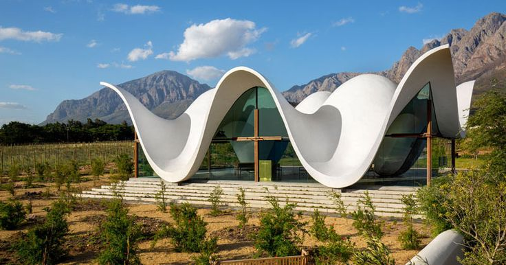 The Sculptural Design Of This Chapel Emulates The Mountains That Surround It | CONTEMPORIST