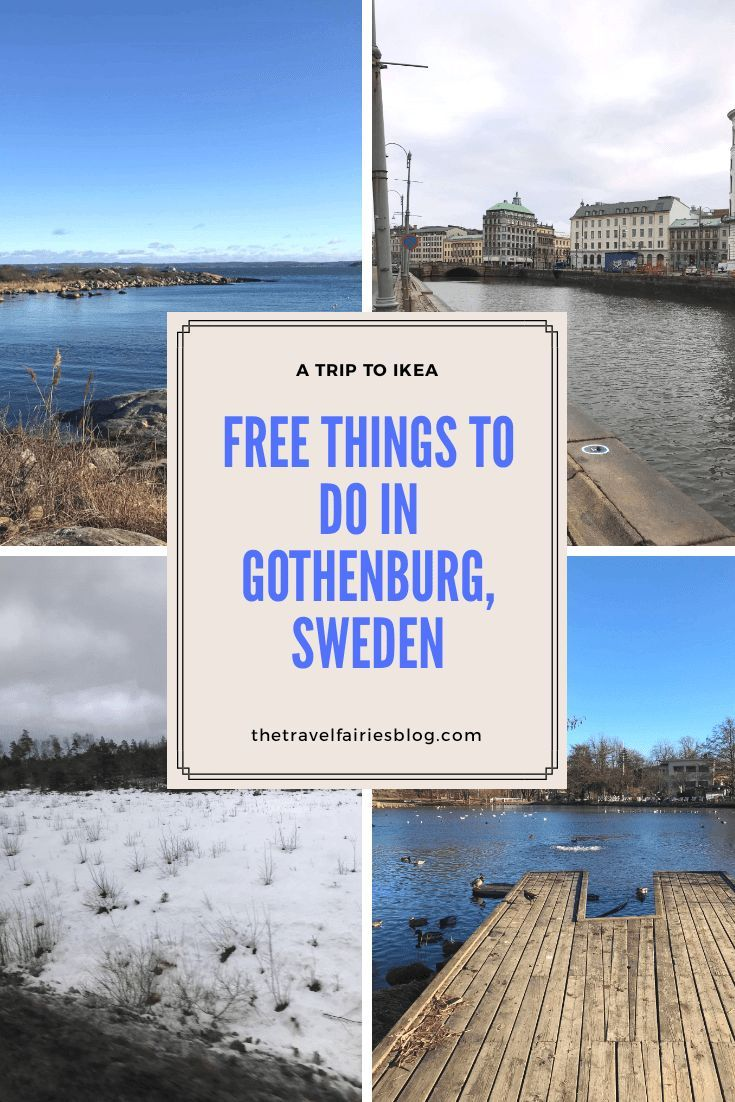 A Trip to Ikea? Free Things to do in Gothenburg, Sweden