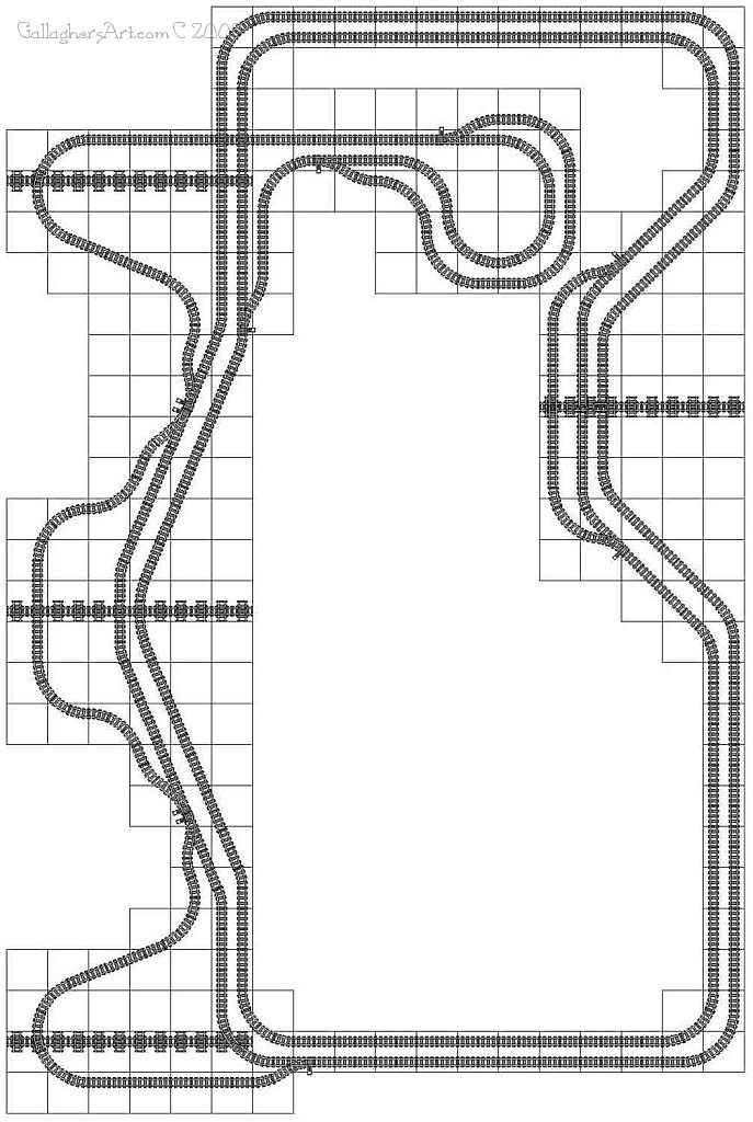 Lego Train Track Layout Geometry