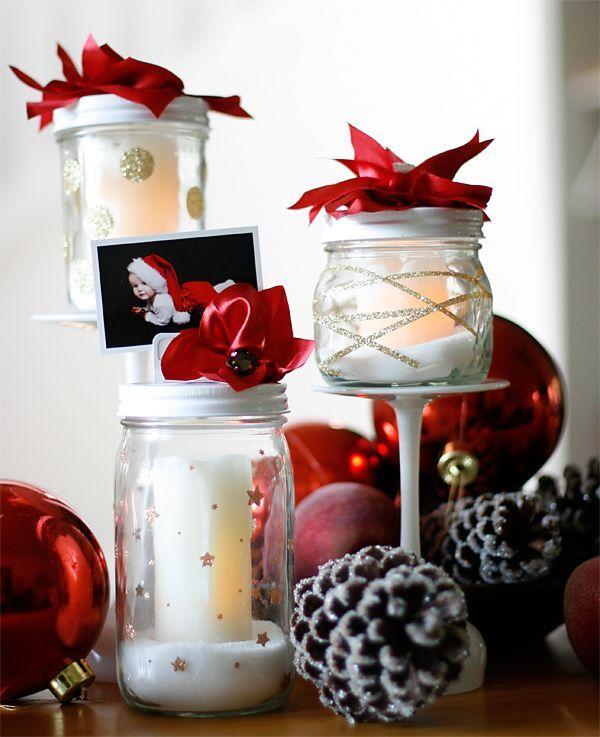 Festive Mason Jars