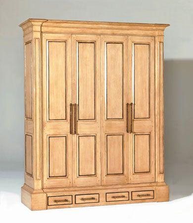 3060b Flat Panel Tv Cabinet With Bifold Receding Doors