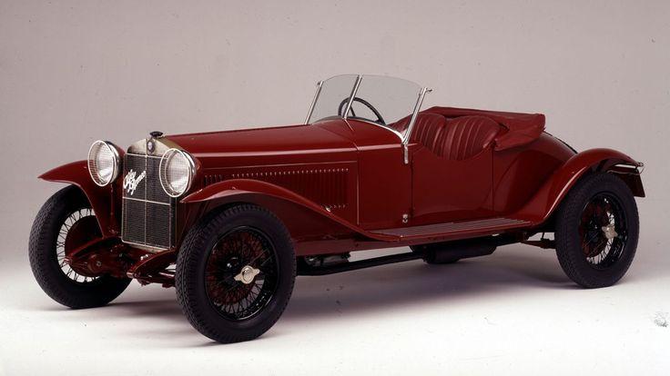 Alfa Romeo und die Mille Miglia - eine Liebesbeziehung, eine Legende. Mit dabei: Enzo Ferrari, Stirling Moss und Mercedes. Hier: Alfa Romeo 6C 1500 Super Sport von 1928. https://autorevue.at/autowelt/mille-miglia-fakten
