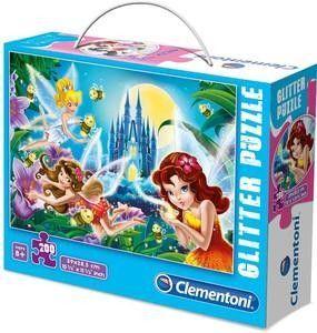 Clementoni - pz 200 mcx Fées scintillantes la nuit - Castello   Jeux et Jouets