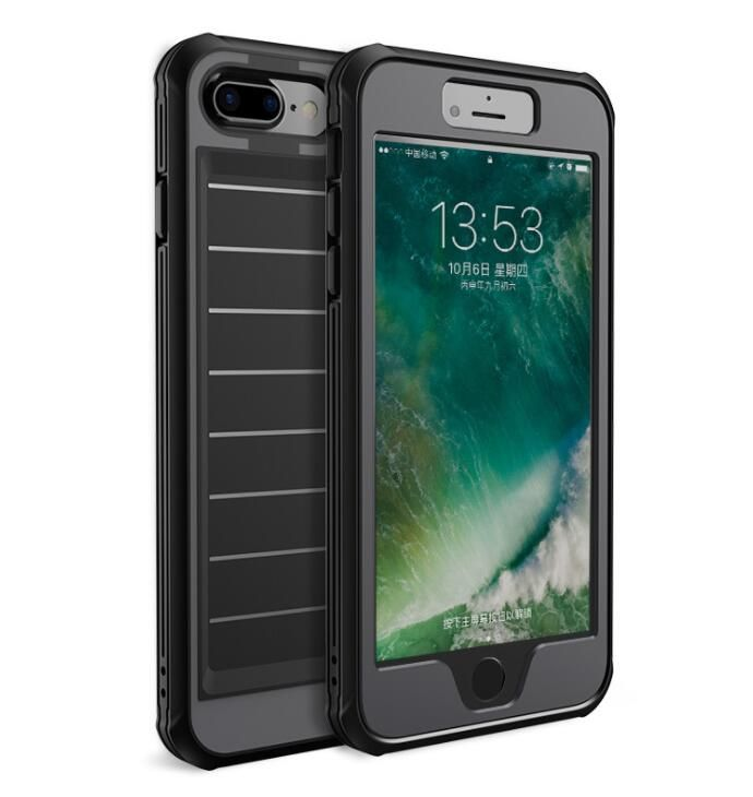 Military Grade Drop Tested Protective Case for Apple iPhone 7 PLUS - BLACK Reliable Protection: A triple layered case that encloses around your phone to yield maximum protection in a thin profile Aesthetically Engineered: Designed with air cushion technology that disperses impact force. [Military Grade Drop Test Certified] iPhone 7 PLUS Case for the Apple iPhone 7 Plus. Also reverse compatible with iPhone 6 PLUS and iPhone 6s PLUS OUR PRODUCT CODE: IP7PLUS-BOW-MIL-BLA