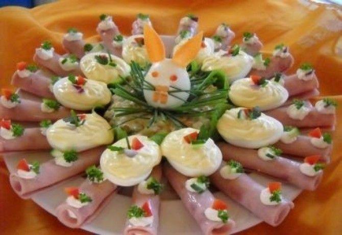 Húsvéti nyuszitál recept képpel. Hozzávalók és az elkészítés részletes leírása. A húsvéti nyuszitál - hidegtál 5. elkészítési ideje: 70 perc