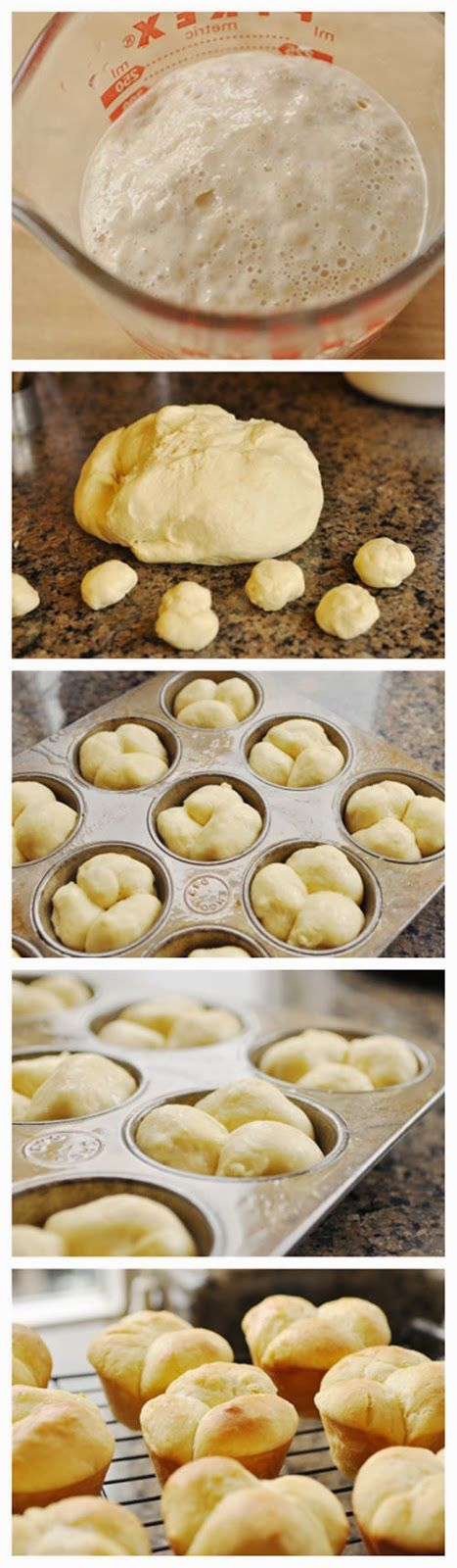 Butter Rolls- need more salt and would use salted butter to dip in before baking, but they were really easy to make and were very pretty and...