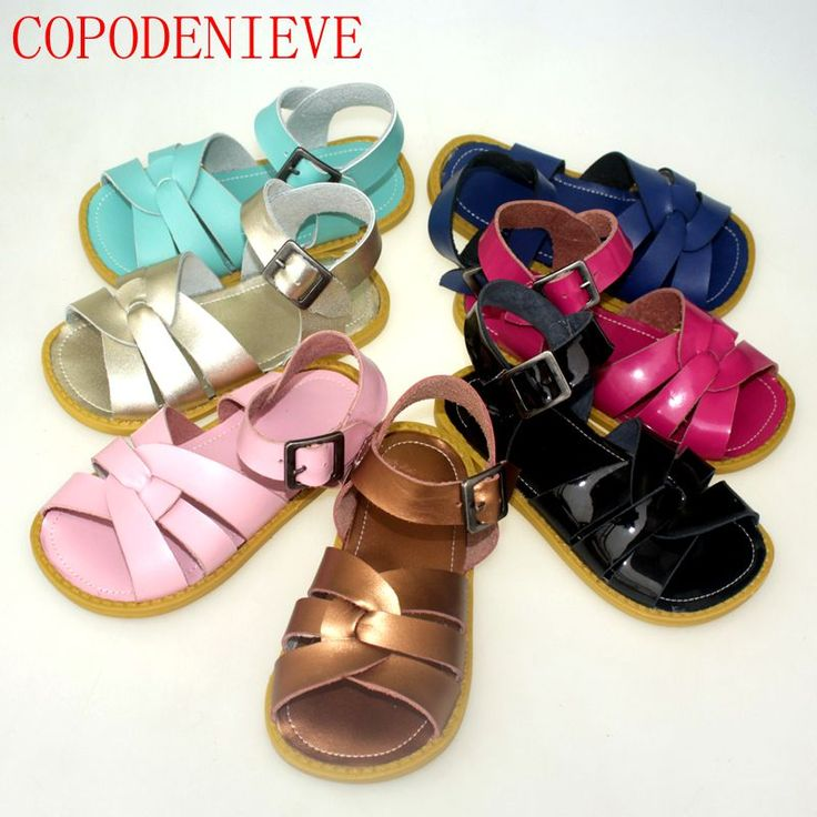 COPODENIEVE Niños zapatos niños sandalias de estilo zapatos de bebé sandalias casuales antideslizantes huecos de aire deporte sandalias de los niños sandalias de los muchachos