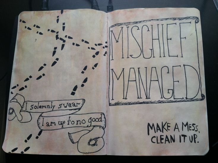 """Make a mess. Clean it up."" -Wreck This Journal, Keri Smith."