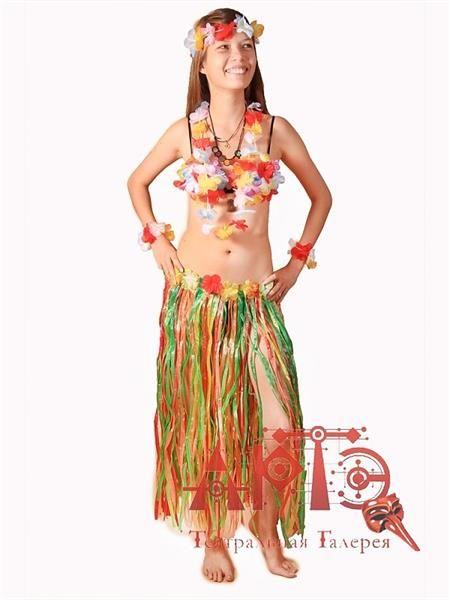 Как сделать самим гавайский костюм