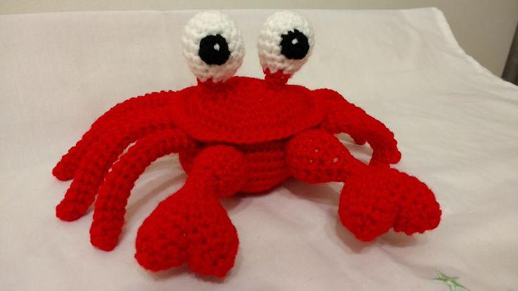 """PATTERN PDF Amigurumi Crochet Crab """"Crazy tweezers"""" de JorMagia en Etsy"""