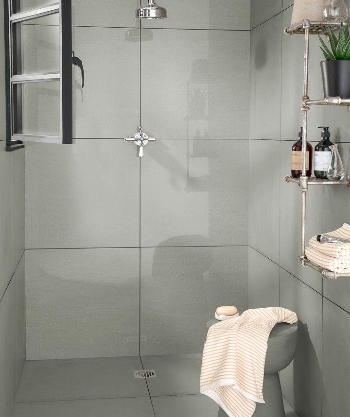 Regal Grey Polished Tile 60cm X 60cm White Bathroom Tiles Topps Tiles