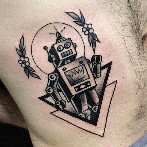 Classic robot by Renata Gregori.                                                                                                                                                      More