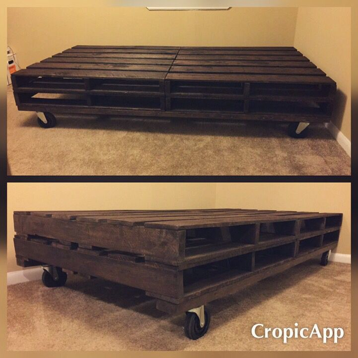 Diy twin pallet bed weekend projects pinterest beds for Pallet bed frame instructions
