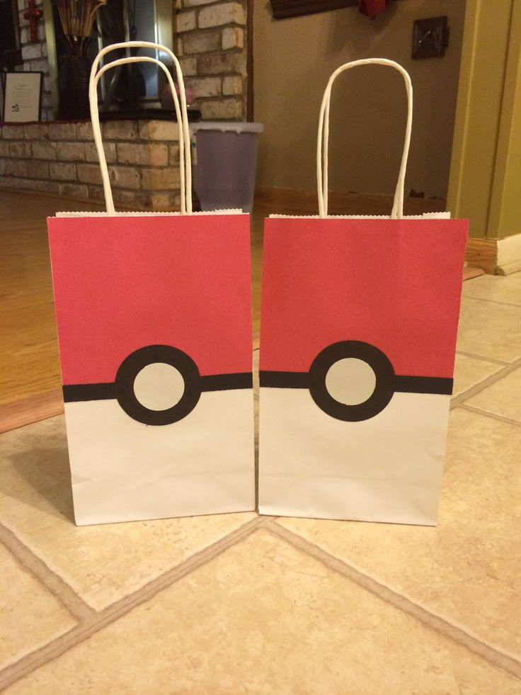 Pokemon Goodie Bags!