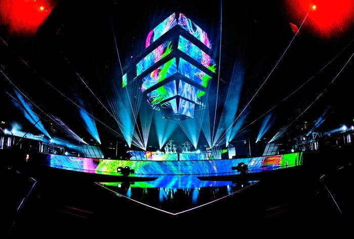 "MUSE: ""THE 2ND LAW TOUR""_ 2012 - REHEARSALS - One of the best live acts in the world. Period."