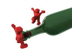 Groupon - Happy Man Bottle Opener, Stopper, and Corkscrew (3-Piece). Groupon deal price: $9.99