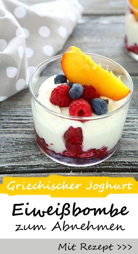 Low Carb Snack: griechischer Joghurt ist die Eiweißbombe zum Abnehmen! PLUS: das REZEPT für Low Carb Pancakes mit griechischem Joghurt >>>>