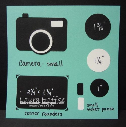 Camera Template - Stampin' Connection