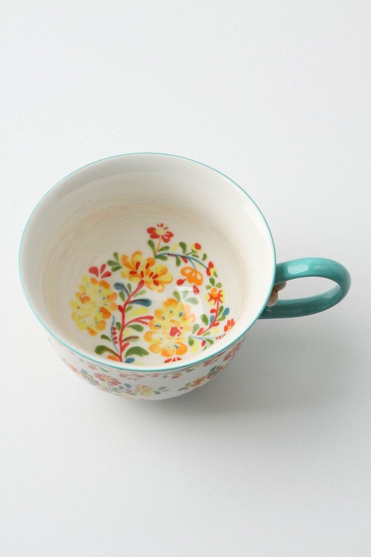 Tea cup...Anthropologie...making a trip next week just for this cup :)