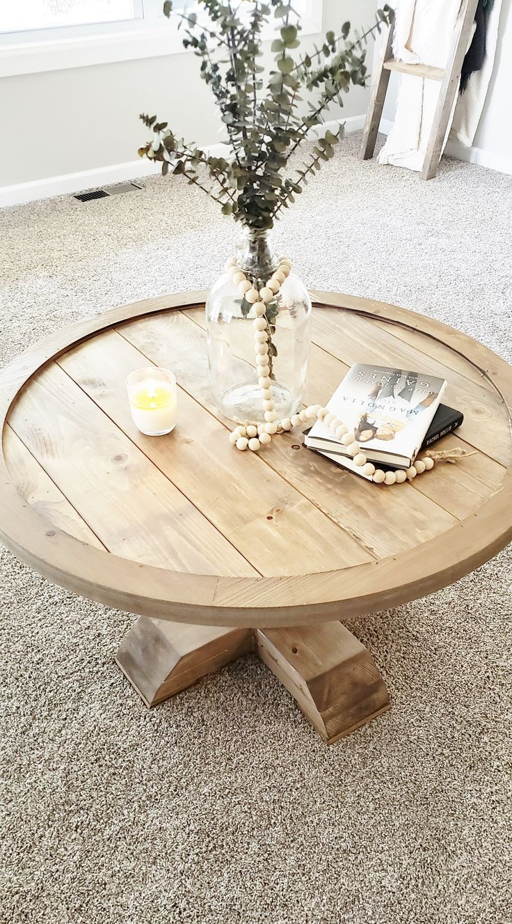 The Bondi Round Coffee Table Crafted From Elm Wood And Timber This Modern And Contemporary Piece Is A Coffee Table Oak Coffee Table Round Wooden Coffee Table [ 1000 x 1000 Pixel ]