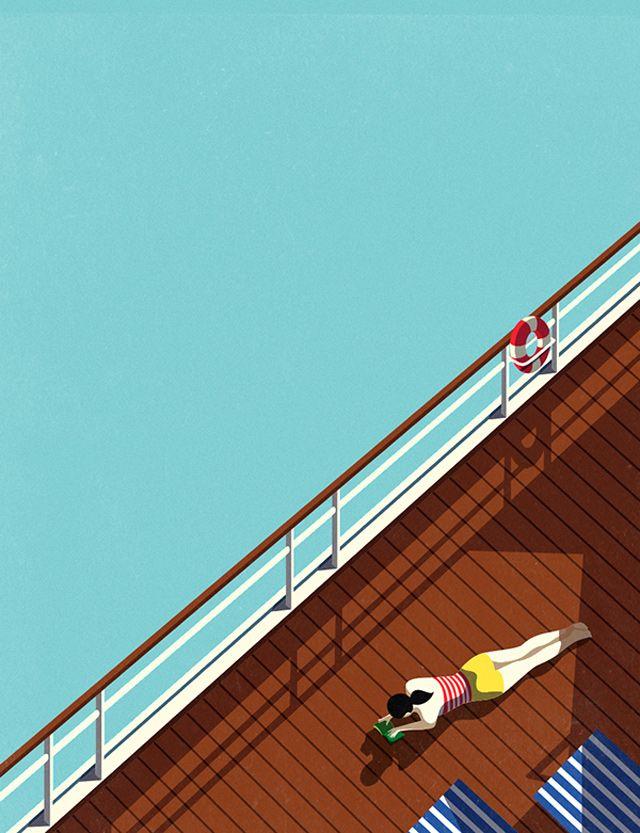Malika Favre, a French illustrator based in London.