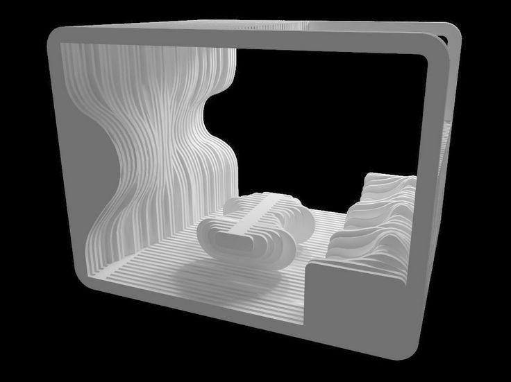 Infografía sin material realizada para la asignatura de Análisis Tridimensional en Mayo de 2014. Herramienta: AutoCAD