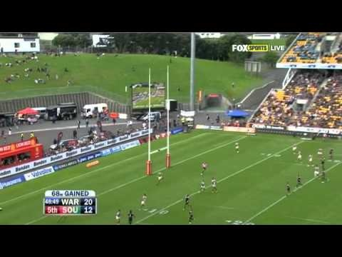 NRL 2012 Round 7 Highlights: Warriors V Rabbitohs