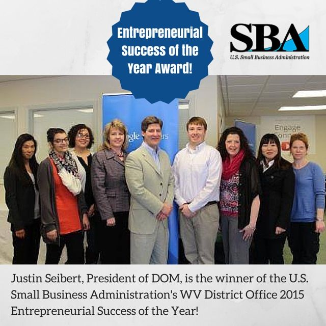 Congratulations to our President, Justin Seibert, on winning the #WV Entrepreneurial Success of the Year Award! Read his thoughts in his new blog!