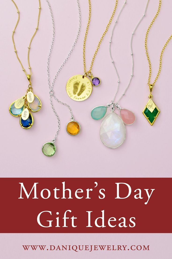 Danique Jewelry Personalized Mother S Day Gift Ideas Custom Birthstone Necklaces Fo Best Mothers Day Gifts Personalized Mother S Day Gifts Mothersday Gifts