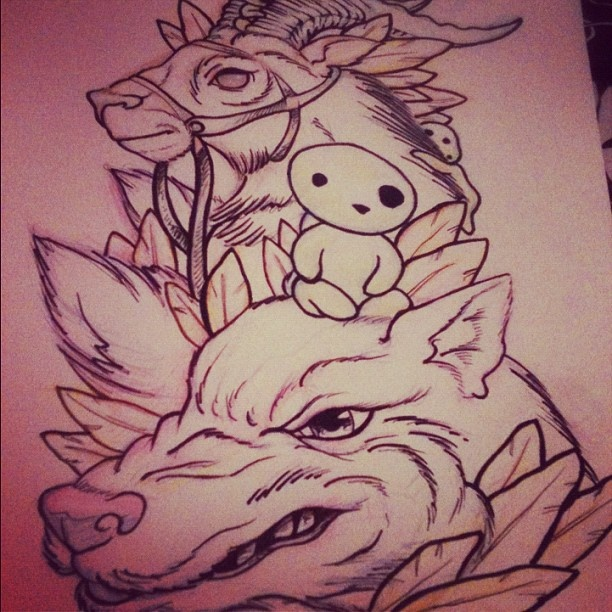 151 best hayao miyazaki tattoo images on pinterest miyazaki tattoo anime tattoos and hayao. Black Bedroom Furniture Sets. Home Design Ideas