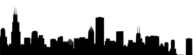 chicago skyline outline drawing chicago clipart and stock rh pinterest com chicago skyline clipart free Chicago Clip Art