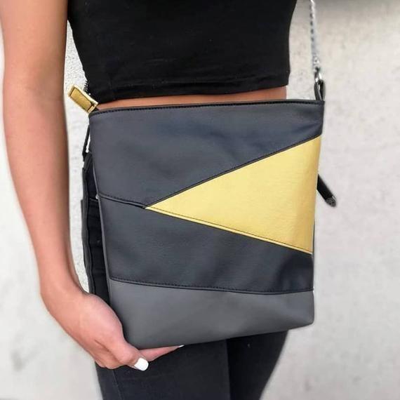 Crossbody Bags Vegan Leather Bag Work Bag Women Zipper Bag Shoulder Bag Crossbody Crossbody Purse Crossb Vegan Leather Bag Purses Crossbody Crossbody Bag