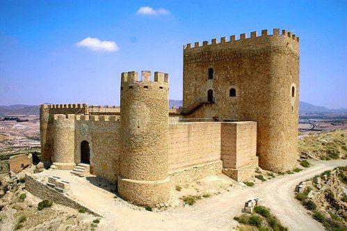 CASTLES OF SPAIN - Castillo de Jumilla (Murcia) En el año 713, cuando las tropas…