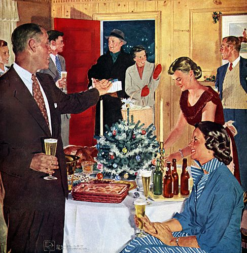 37 Best 1950s Christmas Cocktail Party Images On Pinterest