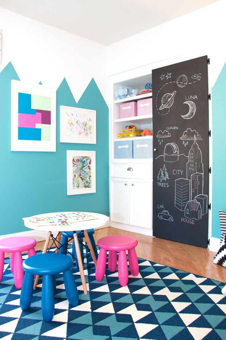 Project: Kids playroom for two