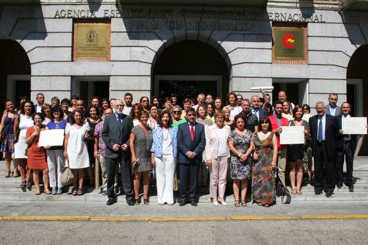 Entrega del VI Premio Nacional de Educacióin para el Desarrollo Vicente Ferrer